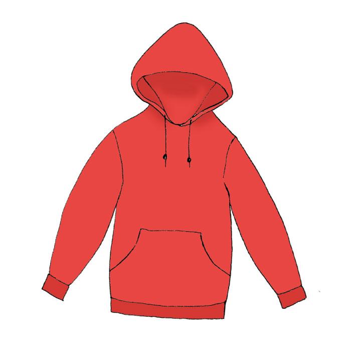 hoodie illustration