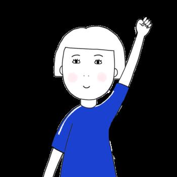 cheering illustration