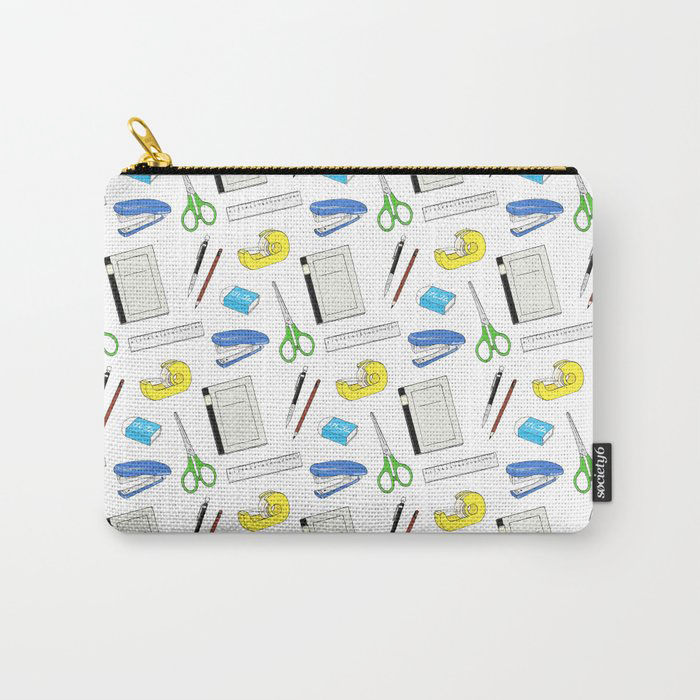 bungu (stationery) pattern pouch