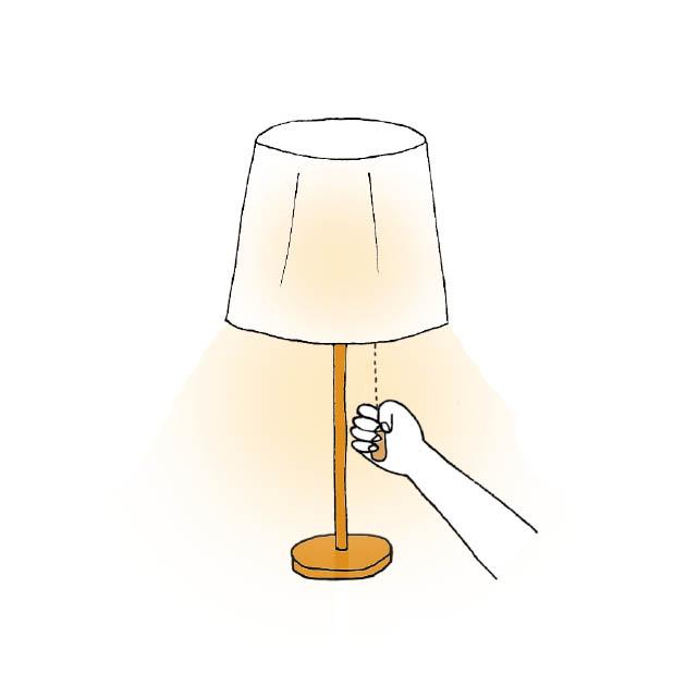 turn on illustration