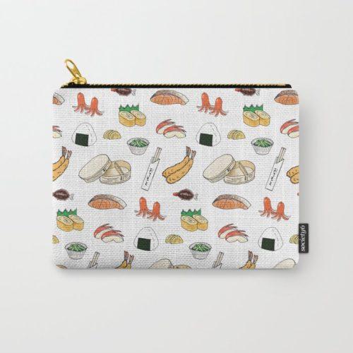 bento pattern pouch