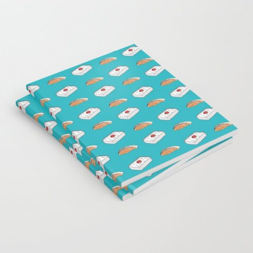 bento salmon notebook set of 3