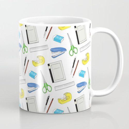 bungu pattern coffee mug
