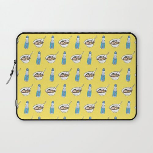 ramen ramune laptop sleeve
