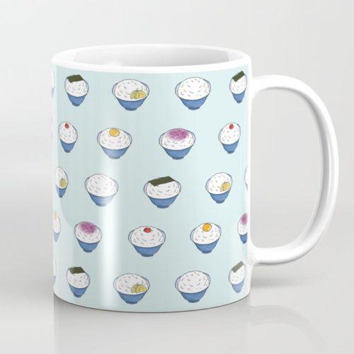 rice every day coffee mug