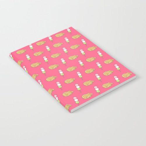 taiyaki dango notebook