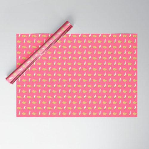 taiyaki dango wrapping paper