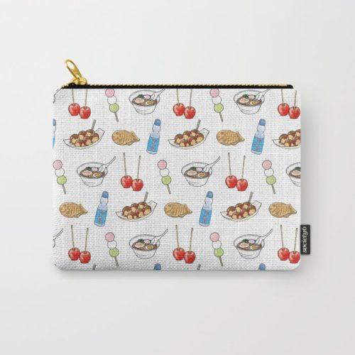 yatai pattern pouch