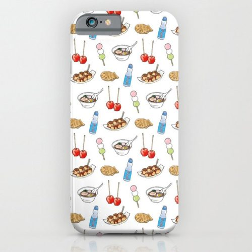 yatai pattern phone case